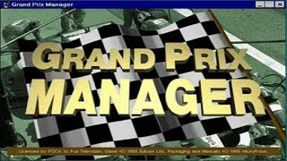 Grand Prix Manager - 1995 PC Game, introduction and gameplay