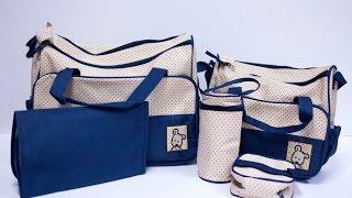 Túi đựng đồ cho mẹ và bé - Túi đựng đồ 5 chi tiết