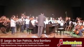 La orquesta infantil Musicaeduca en concierto - Muestra de varias obras