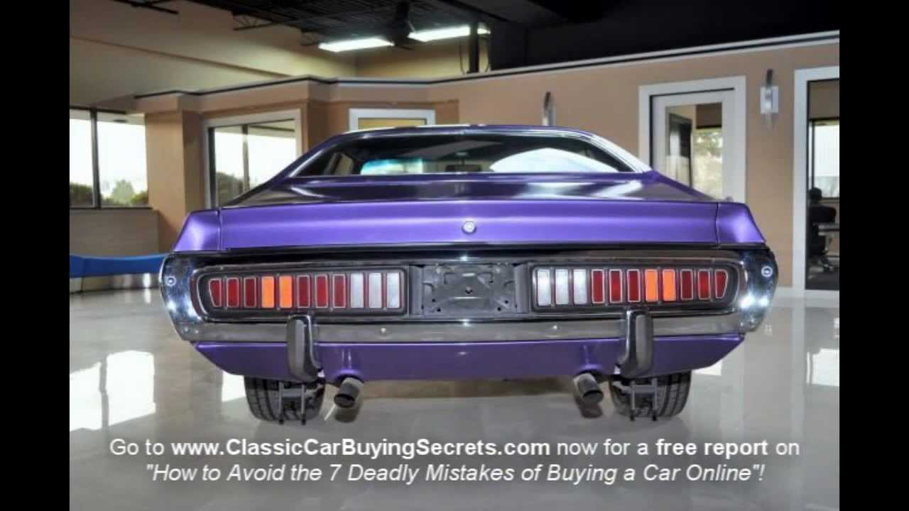 medium resolution of 1973 dodge charger classic muscle car for sale in mi vanguard motor sales youtube