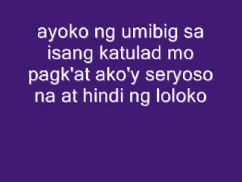 "Like a Rose (Tagalog Version) with Lyrics ""Nasasaktan na ako""  by: MJ"