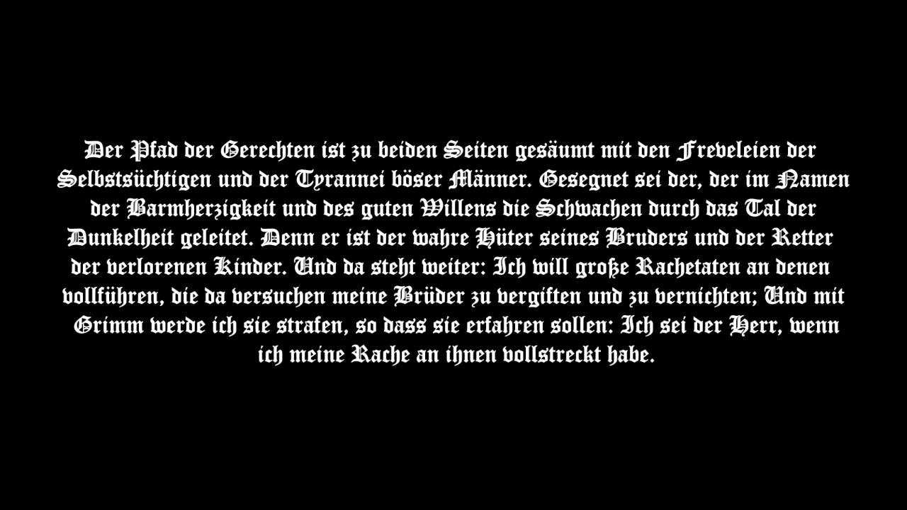 Pulp Fiction Wallpaper Hd Ezekiel 25 17 Quot Teuflisch Quot Youtube