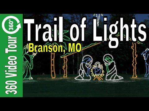 Branson Missouri Christmas Trail of Lights