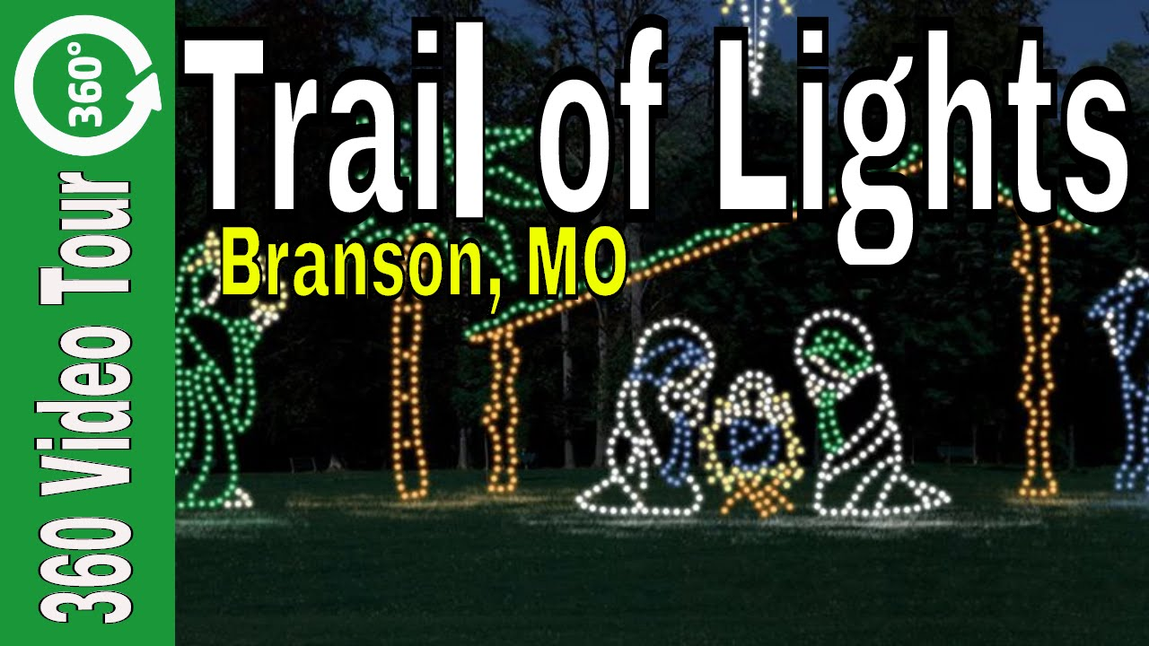 Branson Missouri Christmas Trail Of Lights