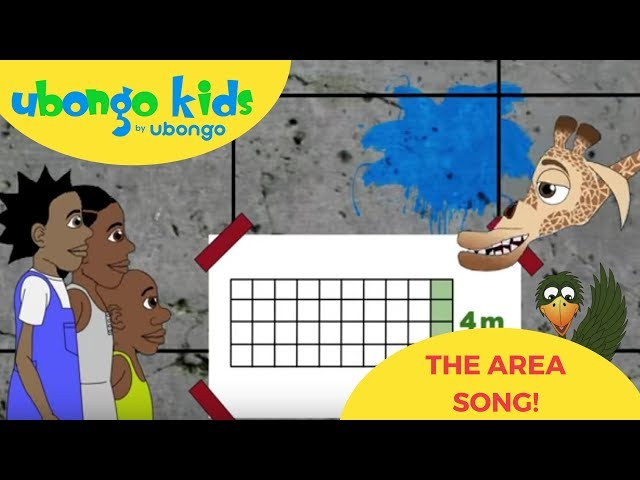 The Area Song | Learn Maths with Ubongo Kids | African Educational Cartoons