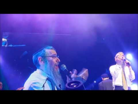 Avraham Fried And Beri Weber Perform At Yad Lachim's Concert In London