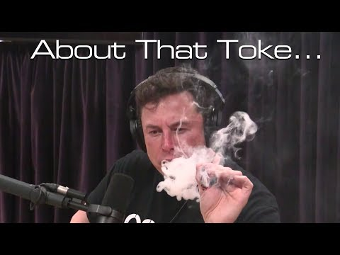 What We're All Missing About That Video With Elon Musk Smoking Pot...
