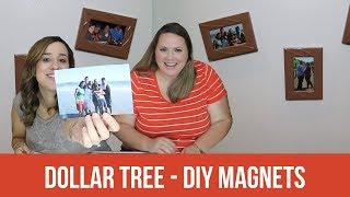 Dollar Tree DIY - Picture Magnets - SSSVEDA Day 29