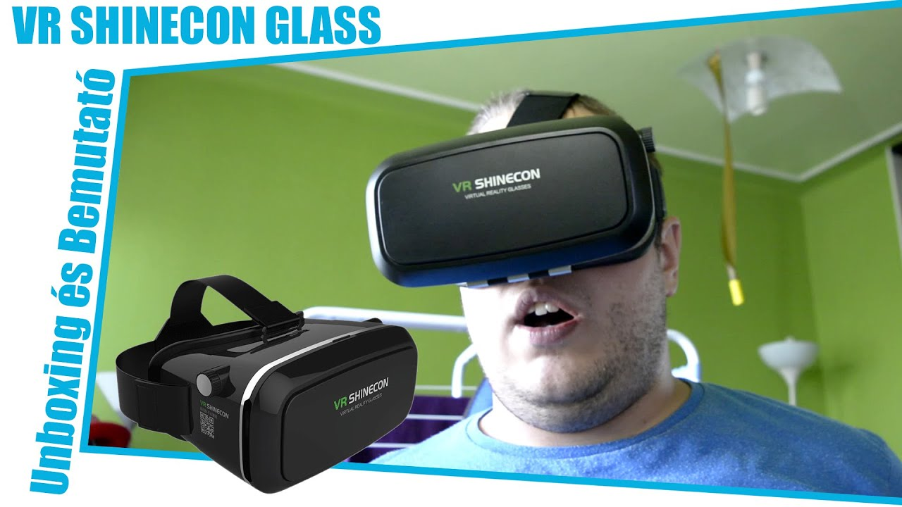 VR SHINECON Szemüveg Unboxing és Vlog - YouTube 89efbe79e6