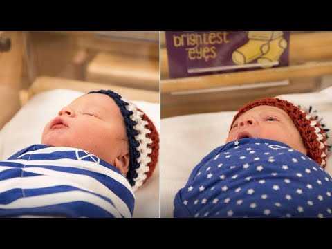 Babies Compete for 'Strongest Lungs,' 'Best Napper' in Maternity Ward 'Olympics'