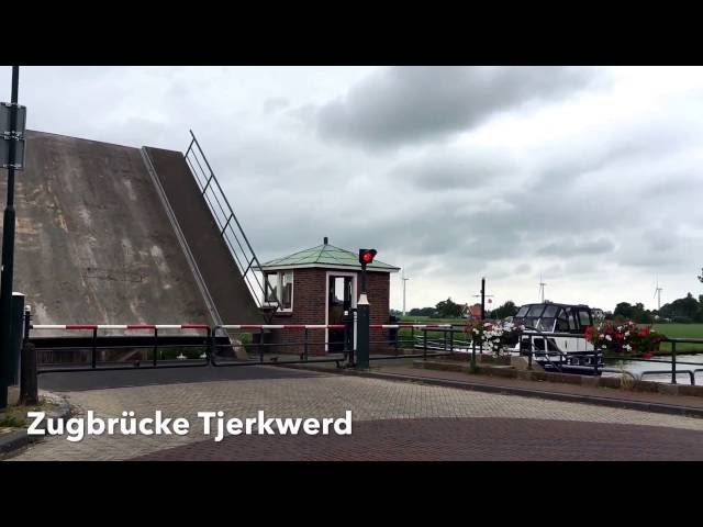Zugbrücke Tjerkwerd - Friesland