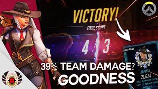 39% Team Damage? Goodness