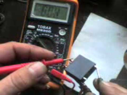 4 prong relay wiring diagram prueba de    relay    youtube  prueba de    relay    youtube
