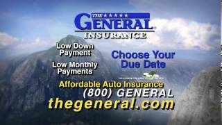 Low Down-Payment and Monthly Payment Car Insurance | The General Car Insurance