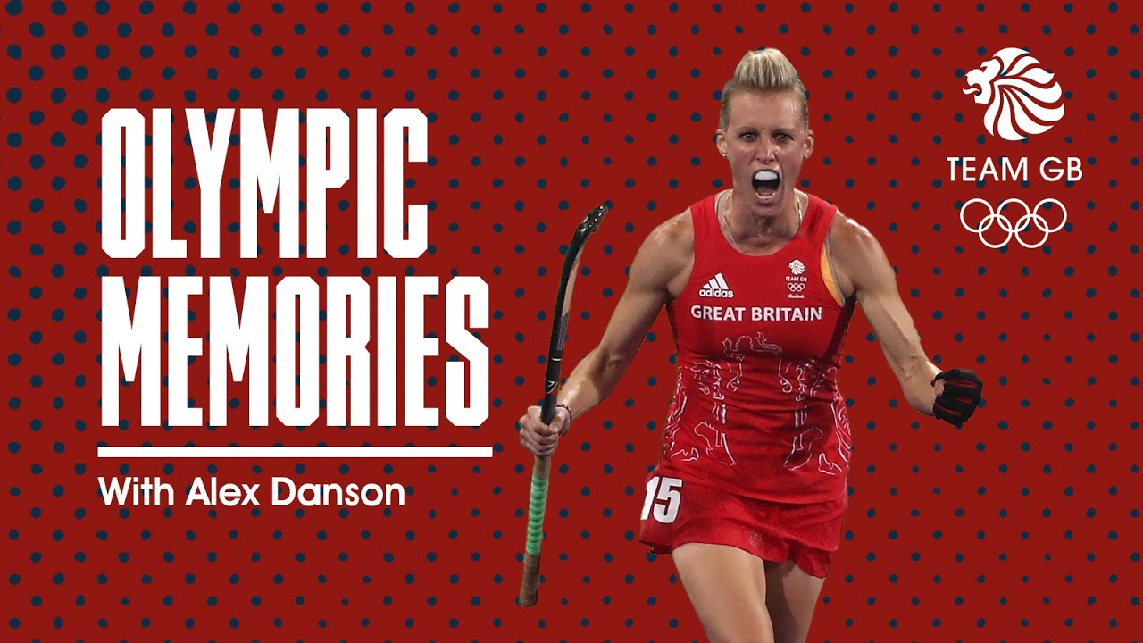 Alex Danson - Women's Hockey gold medal | Olympic Memories
