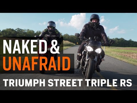 Naked & Unafraid - Evolution of the Triumph Street Triple RS at RevZilla.com