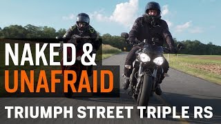 Naked & Unafraid - Evolution of the Triumph Street Triple at RevZilla.com