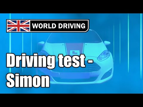 2018 Full UK driving test with Simon (mock driving test)