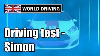 UK Driving test with Simon (mock test) https://www.driving-school-b...