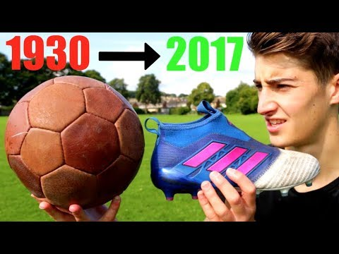 The Evolution of FOOTBALL & Football Boots!!