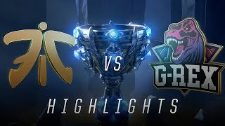FNC vs. GRX - Worlds Group Stage Match Highlights (2018)