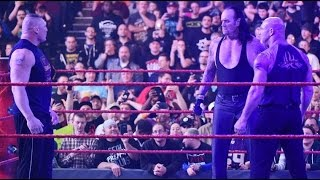 Video Goldberg vs Undertaker vs Brock lesnar  on Raw download MP3, 3GP, MP4, WEBM, AVI, FLV Agustus 2018