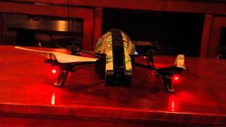 parrot ar drone 2 0 elite edition indoor review tutorial outdoor flight test and footage