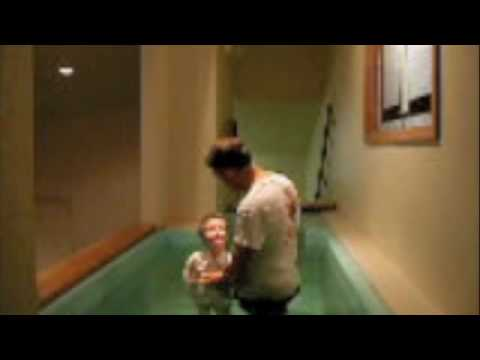 Chris Kimsey Baptism