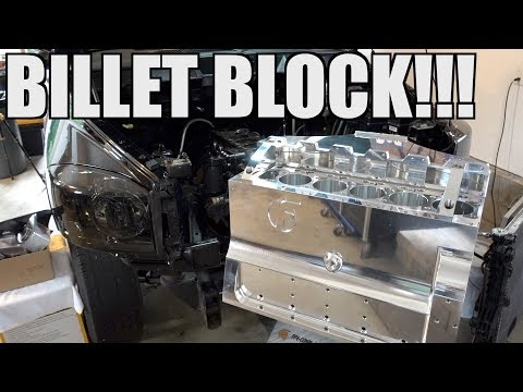 THE NEW CUMMINS BILLET BLOCK IS HERE!!!! FLEECE PERFORMANCE DISCOUNT CODE!!!!