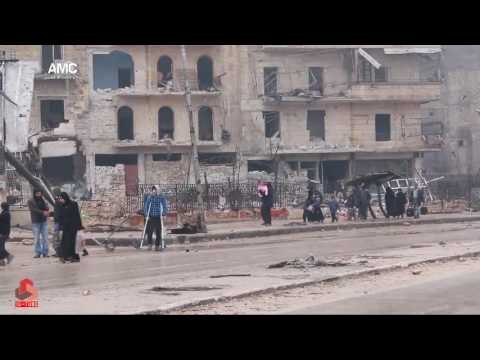 مجازر حلب على انغام الموسيقار ياني The massacres of Aleppo to the music of composer Yanni
