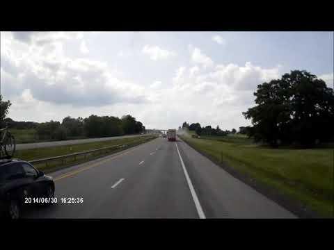Dash Cam Caught Fatal Accident NEWYORK Thruway ,2014/06/30