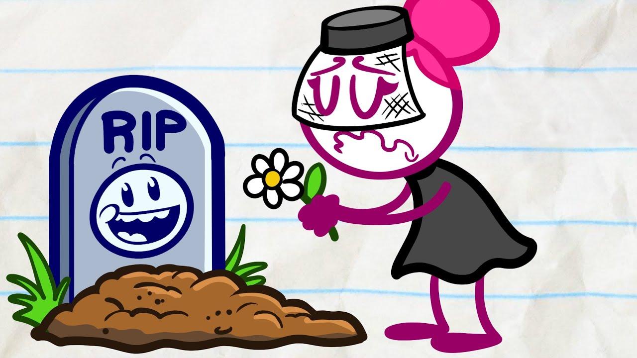 Pencilmate's DANGEROUS Stunts! | Animated Cartoons Characters | Animated Short Films | Pencilma