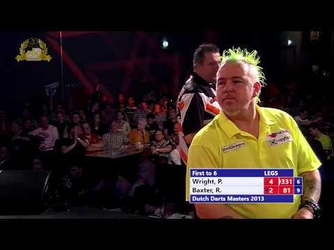 Dutch Darts Masters third round - Peter Wright vs Ronnie Baxter