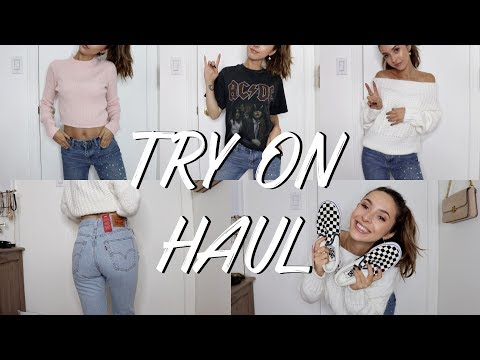 FIRST TRY-ON CLOTHING HAUL OF 2018