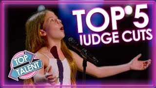 TOP 5 Kid Singers on Judge Cuts | America's Got Talent 2019 | Top Talent