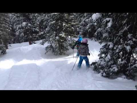 Powder day Eldora skiing
