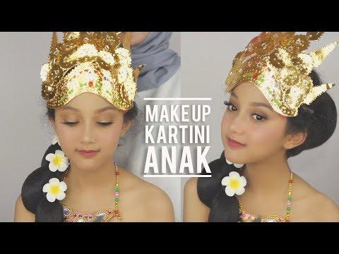 Makeup Kartini Anak Sesuai Usia | Soft Makeup | Gampang dan Cepet | Linda Kayhz