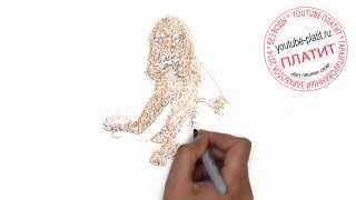 Нарисованные карандашом собаки   Как нарисовать карандашом собаку с щенком