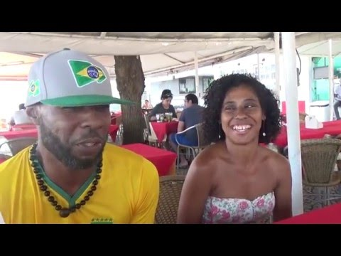 A day hanging out with Afro American & Afro Brazilian Couple  Part 1