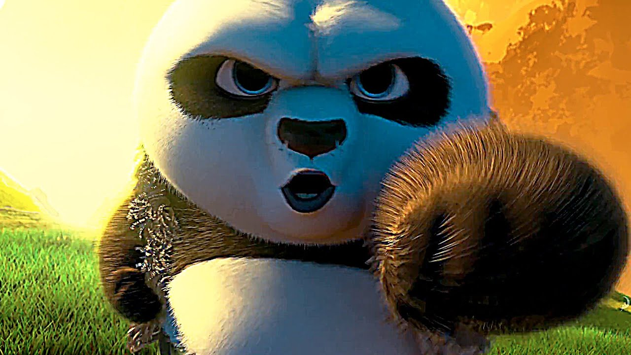 kung fu panda 3 movie clip 'training' - youtube