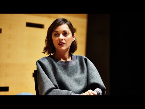 NYFF52 Live: Marion Cotillard | On Pursuing Acting