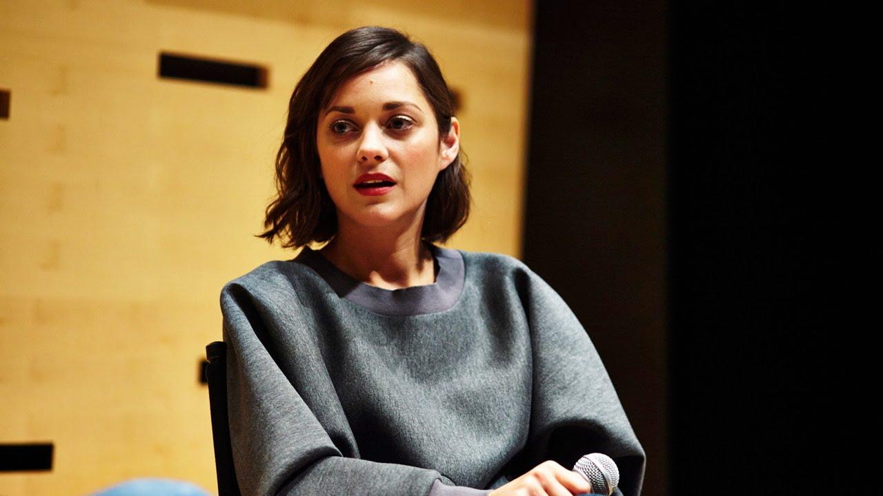 NYFF52 Live: Marion Cotillard | On Pursuing Acting