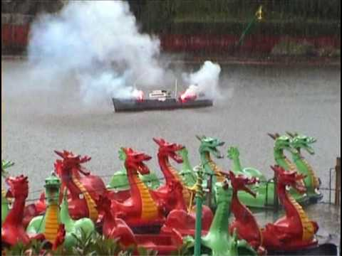 Naval Battle, Peasholm Park, Scarborough, North Yorkshire