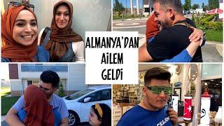 ALMANYA'DAN AİLEMİZ GELDİ - KAVUŞMA ANI - BAYRAM ŞENLİĞİ & BERABER TATİL