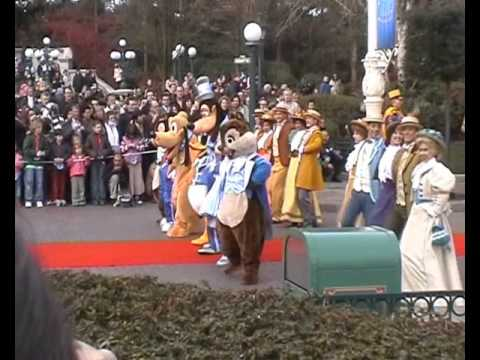 Disneyland Paris 2007 press event 15 years celebration Miley Cyrus