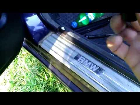 БМВ Е34 Ремонт уплотнителей дверей BMW E34