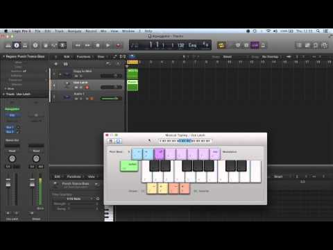 ♫ Logic Pro X Caps Lock Keyboard / Musical Typing Keyboard ♫