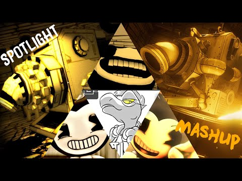 Spotlight - A Bendy And The Ink Machine Song - MASHUP