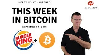 This week in Bitcoin - Sep 9th, 2019