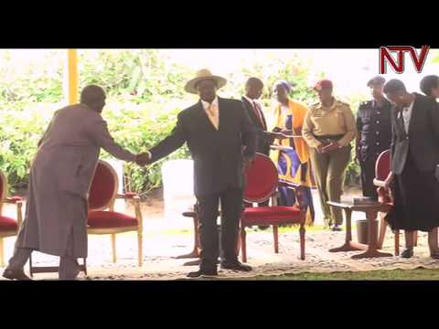 NATIONAL THANKSGIVING SERVICE: President Museveni warns civil servants over salary strikes